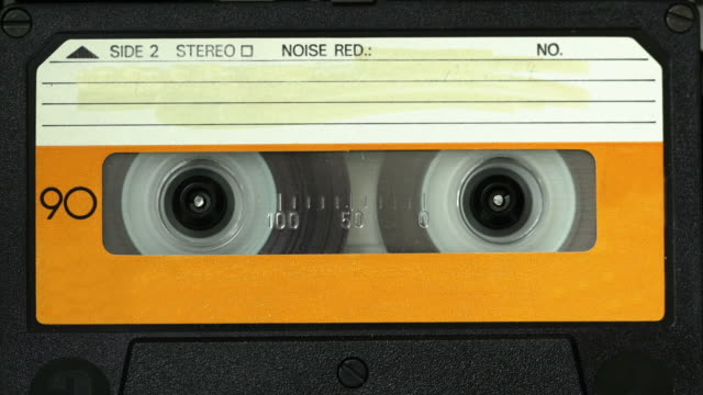 time lapse: cassetta - cassetta video stock e b–roll