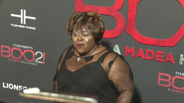 """Cassi Davis at Lionsgate Presents the Los Angeles Premiere of Tyler Perry's """"Boo 2 A Madea Halloween"""" in Los Angeles CA"""