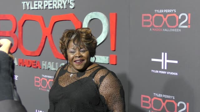 Cassi Davis at Lionsgate Presents The Los Angeles Premiere of Tyler Perry's 'Boo 2 A Madea Halloween' at LA LIVE on October 16 2017 in Los Angeles...