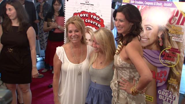 cassidy gifford kathie lee gifford and ann shoket at the 'i love you beth cooper' screening at new york ny. - kathie lee gifford stock videos & royalty-free footage