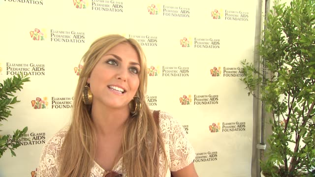 Cassie Scerbo on today's event on the work EGPAF does and on what she's looking forward to at 23rd Annual 'A Time For Heroes' Celebrity Picnic...