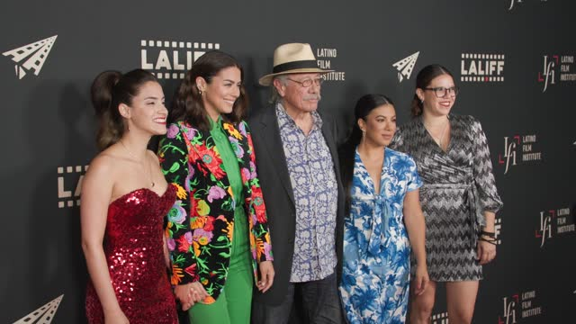 """cast and crew at the laliff closing night """"women is losers,"""" red carpet capture produced by cindy maram, dig in magazine/in close entertainment at... - tcl chinese theatre stock videos & royalty-free footage"""