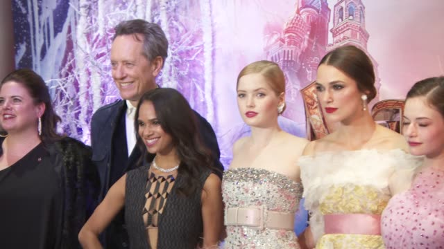 Cast and Crew at The Nutcracker And The Four Realms Gala Screening on November 1 2018 in London England