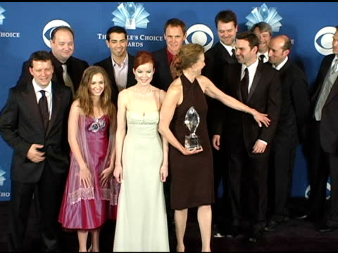 Cast and crew of 'Desperate Housewives' at the 2005 People's Choice Awards Photo Room at the Pasadena Civic Auditorium in Pasadena California on...