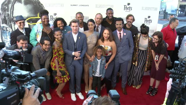 Cast and Filmmakers at the Blindspotting Oakland Premiere at The Grand Lake Theater on July 11 2018 in Oakland California