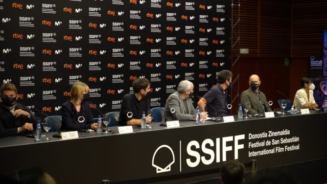"ESP: ""Sentimental/ The People Upstairs"" Press Conference - 68th San Sebastian Film Festival"