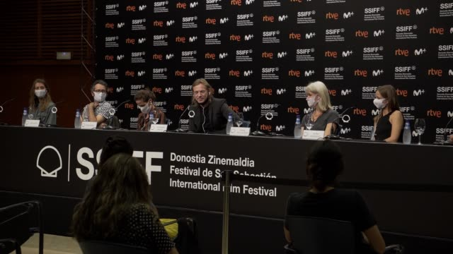 ESP: ''Sutemose'' Press Conference - 68th San Sebastian Film Festival