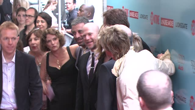 cast members at the world premiere of showtime's 'nurse jackie' at new york ny - nurse jackie video stock e b–roll