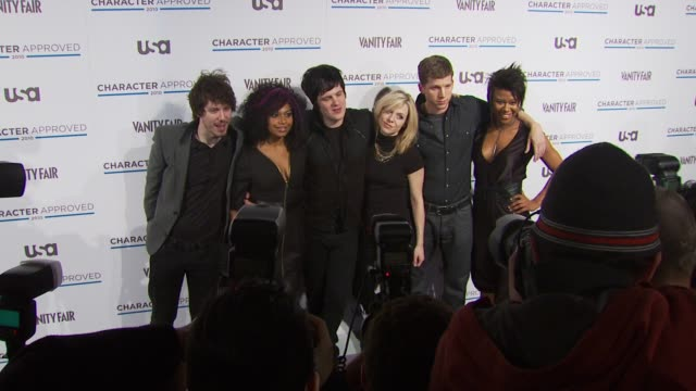 Cast Members from Green Day's American Idiot at the 2nd Annual Character Approved Awards Cocktail Reception at New York NY