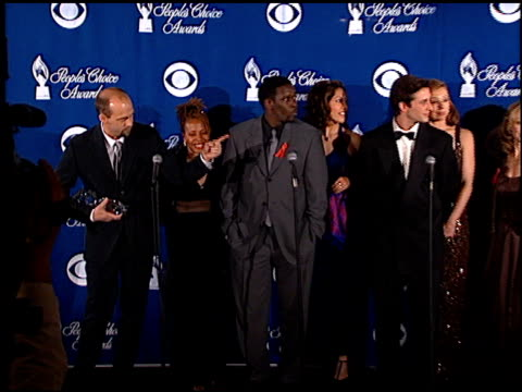Cast of ER at the 1999 People's Choice Awards at the Pasadena Civic Auditorium in Pasadena California on January 10 1999