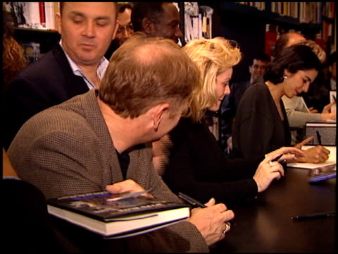 Cast of NYPD Blue at the NYPD Blue Book Signing at Book Soup in West Hollywood California on November 6 1995