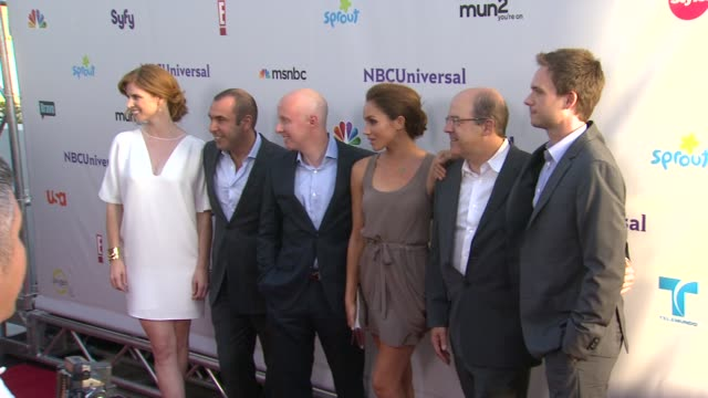 cast of suits at the nbc universal press tour allstar party at los angeles ca - cast video stock e b–roll