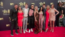 Cast of Vanderpump Rules at 2018 MTV Movie & TV Awards - Arrivals at     Stock Footage Video