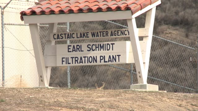 castaic lake dips amid long dry spell in southern california / water supplies dwindle amid low rain and snowfall - castaic lake stock videos and b-roll footage