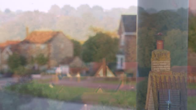 woman paid just 11p an hour to work as servant awarded compensation england buckinghamshire milton keynes ext various views of houses - バッキンガムシャー点の映像素材/bロール