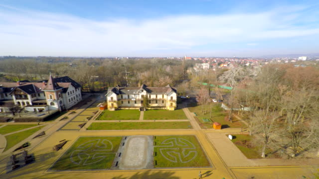 AERIAL Caste in the Keszthely