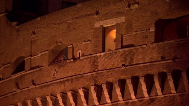 castel sant angelo in rome - rom stock-videos und b-roll-filmmaterial