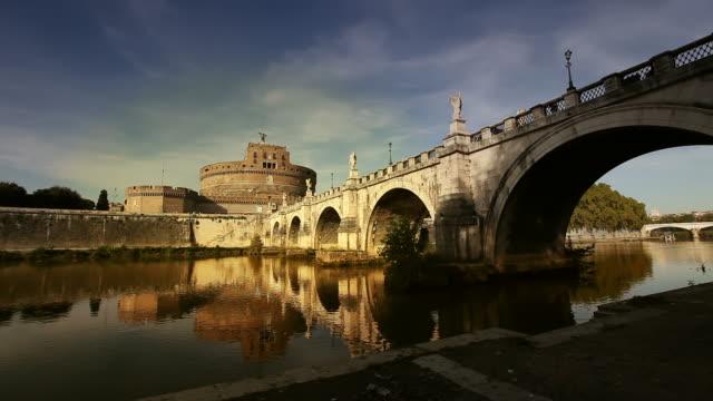 Castel Sant'Angelo テベレ川に反映されています