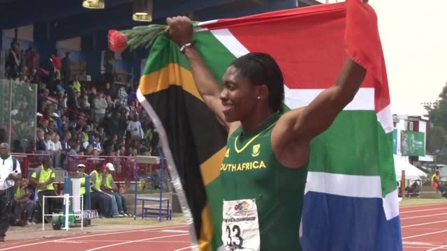 caster semenya's battle with world athletics governing body over testosterone curbing regulations for female athletes will likely have long lasting... - caster semenya stock videos & royalty-free footage