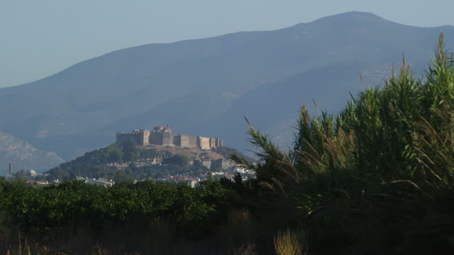 castle at selcuk - wiese stock videos & royalty-free footage