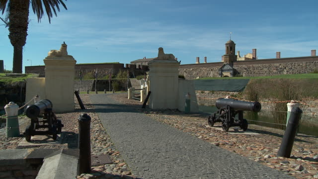 WS PAN Castle entrance and moat, Cape Town, Western Cape, South Africa