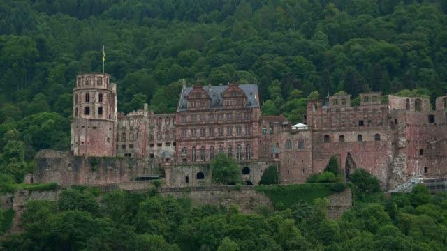 vidéos et rushes de castle, heidelberg, baden-wurttemberg, germany, europe - xiiième siècle