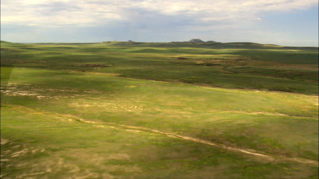 Castle Rock Buttes  - Aerial View - South Dakota,  Butte County,  United States
