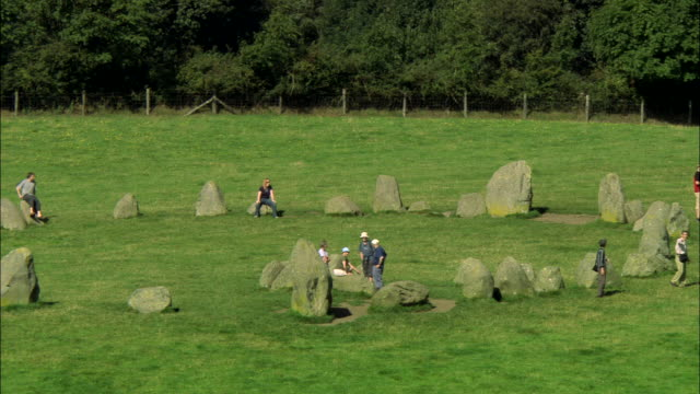 castlerigg stone circle - obelisk stock videos & royalty-free footage