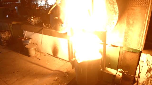 cast, schmelzen, Feuer