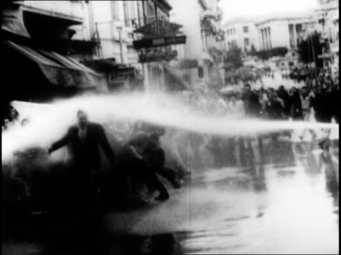 castro planning revolution and protests being put down by government - fire hose stock videos & royalty-free footage