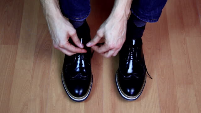 casual shoes lacing - pair stock videos & royalty-free footage