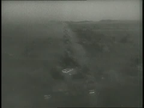 casualties result from german air raids and ground battles. - 戦車点の映像素材/bロール