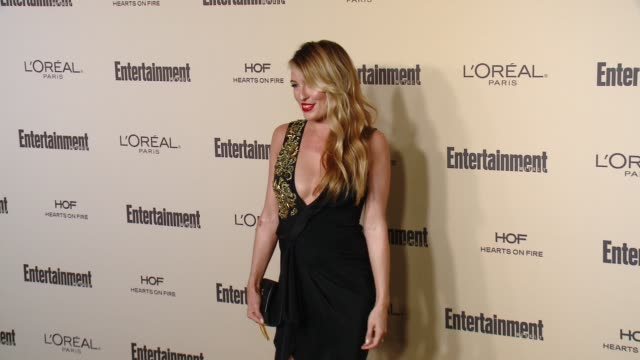 cat deeley at entertainment weekly's preemmy celebration at fig olive melrose place on september 18 2015 in west hollywood california - entertainment weekly stock videos and b-roll footage