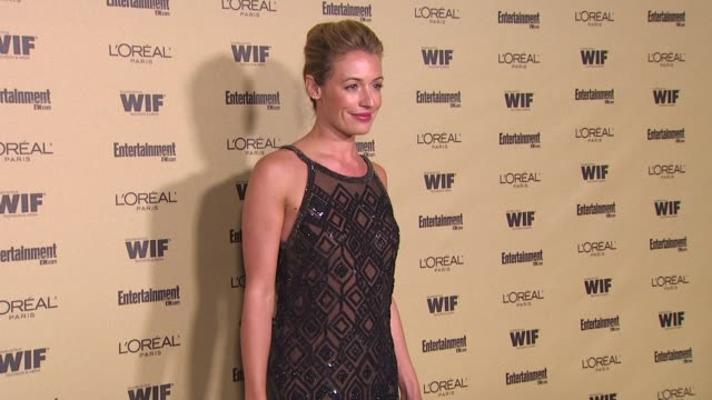 cat deeley at the entertainment weekly and women in film pre-emmy party at west hollywood ca. - pre emmy party stock videos & royalty-free footage