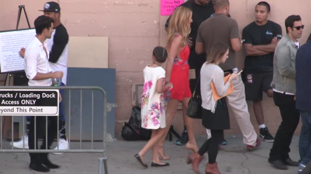 Cat Deeley departs the 2014 Teen Choice Awards in Los Angeles in Celebrity Sightings in Los Angeles