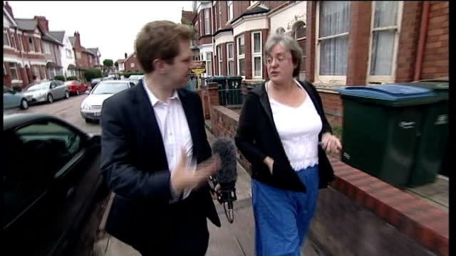 Cat 'wheelie bin incident' woman apologises TRACK BACKWARDS Bale interviewed as along street SOT It was not intended to cause any harm to anybody...