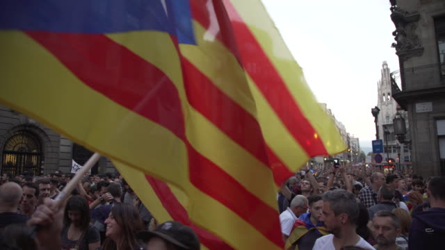 Catalonia demonstration at Barcelona to demand independence from Spain