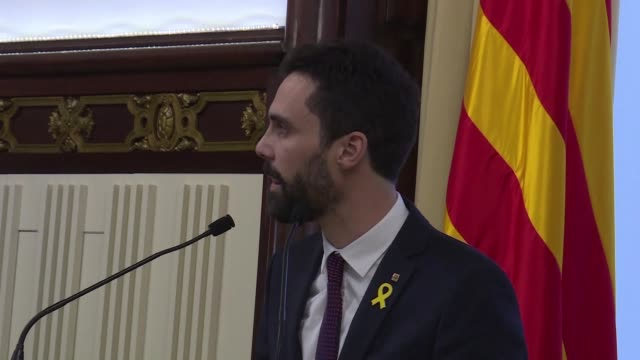Catalonia's parliament speaker Roger Torrent delays a key debate in the regional assembly on ousted separatist leader Carles Puigdemont's bid to form...