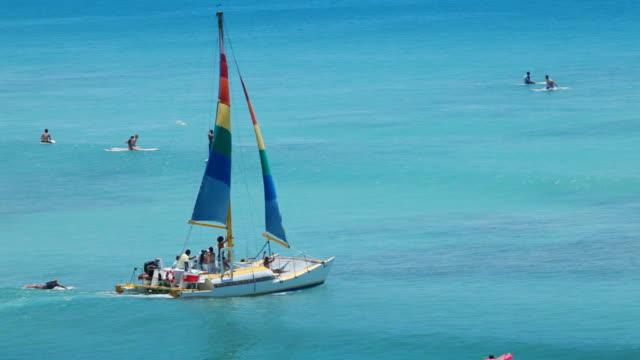 Katamaran bei Hawaiian Beach Paradise