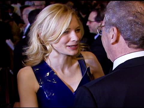 Cate Blanchett and Sydney Pollack at the 2007 Palm Springs International Film Festival Gala Awards Presentation on January 6 2007