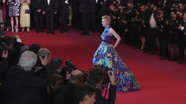 cate blanchett at cold war red carpet arrivals the 71st annual cannes film festival at grand theatre lumiere on may 10 2018 in cannes france - cannes stock videos & royalty-free footage