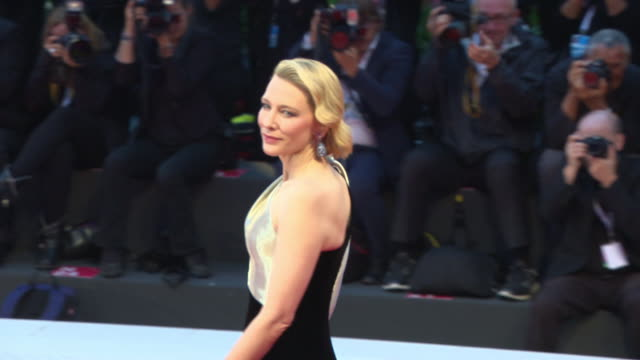 cate blanchett at 'suspiria' red carpet arrivals 75th venice film festival on september 01 2018 in venice italy - 2018 stock videos & royalty-free footage