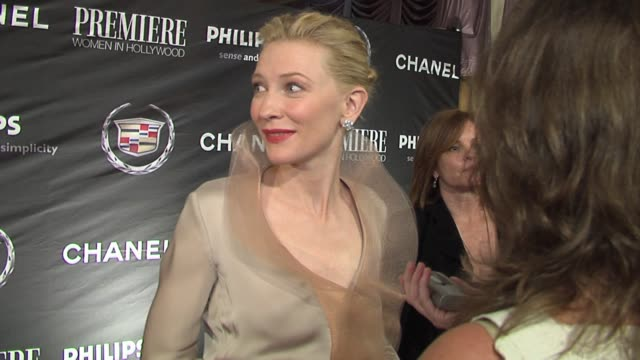 Cate Blanchett at the 13th Annual Premiere Women In Hollywood at the Beverly Hilton in Beverly Hills California on September 20 2006
