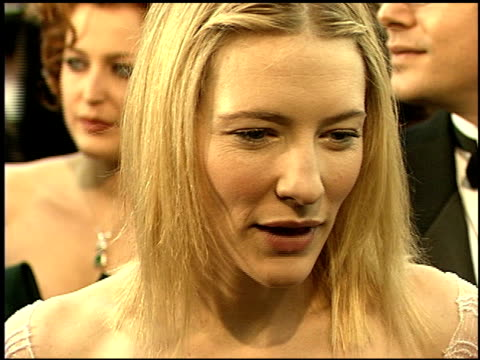 Cate Blanchett at the 1999 Screen Actors Guild SAG Awards at the Shrine Auditorium in Los Angeles California on March 7 1999