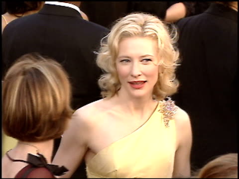 Cate Blanchett at the 2005 Academy Awards at the Kodak Theatre in Hollywood California on February 27 2005