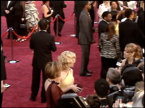 cate blanchett at the 2005 academy awards at the kodak theatre in hollywood, california on february 27, 2005. - 77th annual academy awards stock videos & royalty-free footage