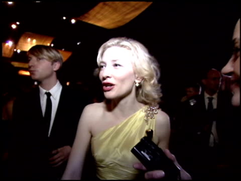 Cate Blanchett at the 2005 Academy Awards Ballroom at the Kodak Theatre in Hollywood California on February 27 2005
