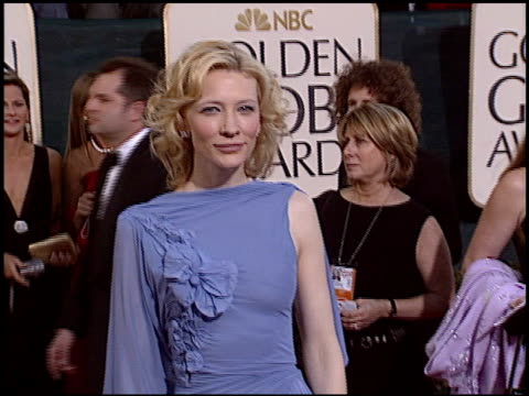 Cate Blanchett at the 2005 Golden Globe Awards at the Beverly Hilton in Beverly Hills California on January 16 2005