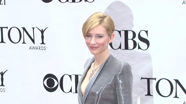 Cate Blanchett at the 64th Annual Tony Awards at New York NY