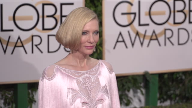 Cate Blanchett at the 73rd Annual Golden Globe Awards Arrivals at The Beverly Hilton Hotel on January 10 2016 in Beverly Hills California 4K